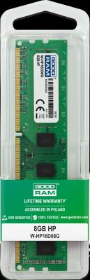 GOODRAM Pamięć dedykowana HP DDR3 DIMM 8GB 1600MHz CL11