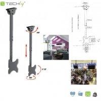 Uchwyt sufitowy Techly LCD/LED 23-42 czarny
