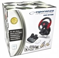 ESPERANZA KIEROWNICA HIGH OCTANE PC/PS1/PS2/PS3