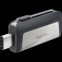 Pendrive SanDisk Ultra Dual Drive 64GB / USB 3.1 Typ-C