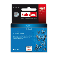 Tusz Activejet AE-802N (zamiennik Epson T0802; 13.5 ml; cyan)