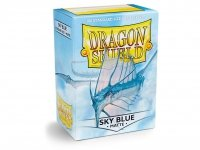 KOSZULKI DRAGON SHIELD SKY BLUE matte 100SZT
