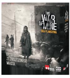 This War of Mine: Gra planszowa – Opowieści ze zniszczonego miasta PL