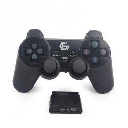 Gembird Bezprzewodowy gamepad z wibracjami kompatybilny z PS2/PS3/PC JPD-WDV-01