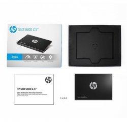 HP Dysk SSD S600 240GB 2.5'' SATA3 6GB/s, 525/520 MB/s
