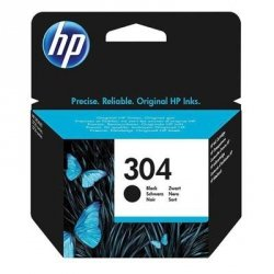 Tusz HP 304 black | 4 ml | 120 str. | HP DeskJet 2620/30 / 3720/30