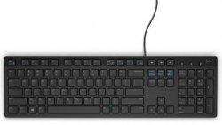 Keyboard : US-Euro (Qwerty) Dell KB216 Quietkey USB, black