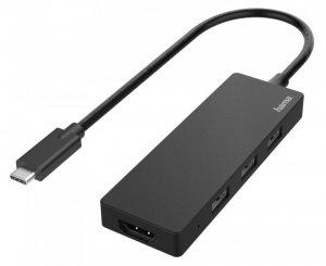 Hub USB Hama multiport USB-C 3xUSB-A 2.0, 1xHDMI
