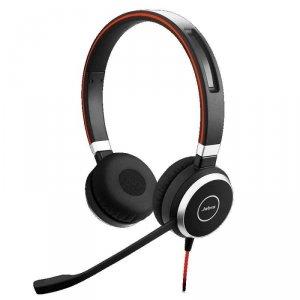 Słuchawki przewodowe z mikrofonem Jabra Evolve 40 MS Stereo, USB-C czarne