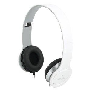 Słuchawki z mikrofonem LogiLink HS0029 stereo HQ, białe