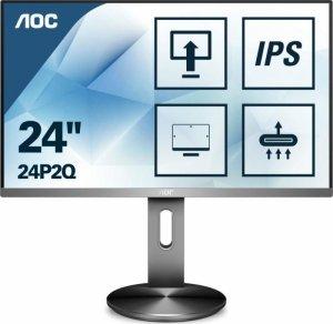 Monitor AOC 23,8 24P2Q VGA DVI HDMI DP 4xUSB 3.1 głośniki