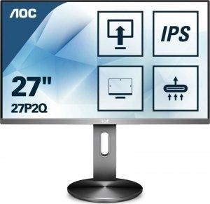 Monitor AOC 27 27P2Q VGA DVI HDMI DP 4xUSB 3.1 głośniki