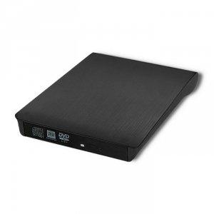Nagrywarka Qoltec DVD-RW zewnętrzna | USB3.0 | czarna