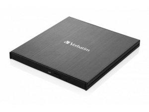 Nagrywarka zewnętrzna Verbatim CD/DVD RW USB-C 3.2 SLIM