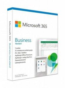 Oprogramowanie Microsoft 365 Business Standard PL P6 1Y Win/Mac
