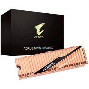 Dysk SSD Gigabyte AORUS SSD 1TB M.2 2280 PCI-Express 4.0 x4 (5000/4400 MB/s) 3D TLC