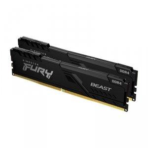 Pamięć DDR4 Kingston Fury Beast 32GB (2x16GB) 2666MHz CL16 1,2V czarna