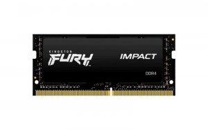 Pamięć SODIMM DDR4 Kingston Fury Impact 16GB (1x16GB) 2933MHz CL17 1,2V