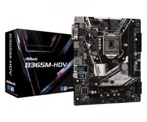 Płyta ASRock B365M-HDV /B365/DDR4/SATA3/M.2/USB3.1/PCIe3.0/s.1151/mATX