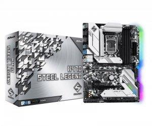 Płyta ASRock H470 Steel Legend /H470/DDR4/SATA3/M.2/USB3.1/PCIe3.0/M.2/s.1200/ATX