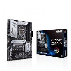 Płyta Asus PRIME Z590-P /Z590/DDR4/SATA3/M.2/USB3.2/PCIe4.0/s.1200/ATX
