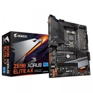 Płyta Gigabyte Z590 AORUS ELITE AX (rev. 1.0) /Z590/DDR4/SATA3/M.2/USB3.1/PCIe3.0/s.1200/WIFI/BT/ATX