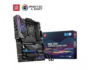 Płyta MSI MPG Z590 GAMING EDGE WIFI /Z590/DDR4/SATA3/M.2/USB3.2/WiFi/BT/PCIe4.0/s.1200/ATX