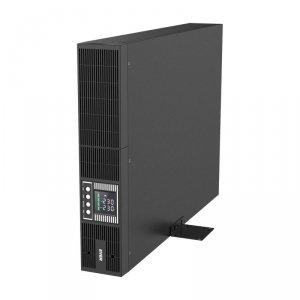Zasilacz awaryjny UPS Ever On-Line Powerline RT PLUS 3000VA VFI 10xIEC Sin USB LCD