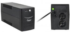 Zasilacz awaryjny UPS Quer Micropower 800 (offline, 800VA / 480W / 2xSCHUKO)