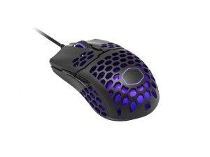 Mysz przewodowa Cooler Master MM711 optyczna 16000 DPI RGB matowa czarna dla graczy