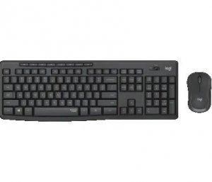 Zestaw bezprzewodowy klawiatura + mysz Logitech MK295 Silent Wireless Combo grafitowy