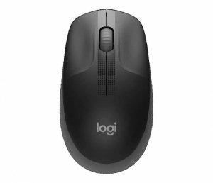 Mysz bezprzewodowa Logitech M190 optyczna węglowa