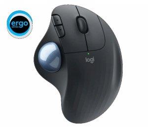 Mysz bezprzewodowa Logitech ERGO M575 ergonomiczna grafitowa