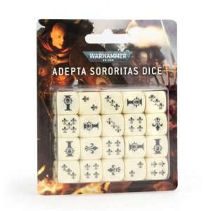 Zestaw kości - Adepta Sororitas Dice (20)
