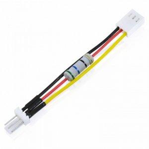 Kabel do wentylatora do obniżenia napięcia zasilania wentylatora z 12V na 7V AAB Cooling AAB C10