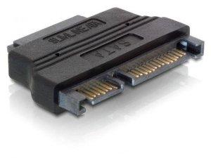 Adapter SATA 22-pin (M) - SATA 13-pin (F) Delock