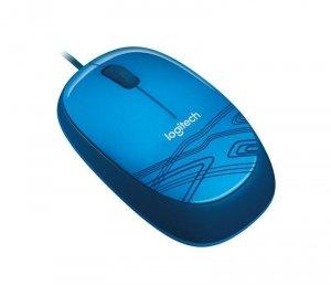 Mysz przewodowa Logitech M105 optyczna niebieska