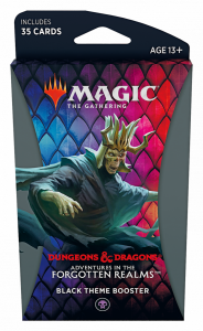 MTG - Adventures in the Forgotten Realms - Theme Booster - Black