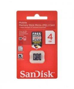 Pamięć Memory Stick Micro (M2) 4GB