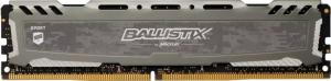 Używana Pamięć DDR4 8GB DDR4 3000Mhz Crucial Ballistix Sport LT CL16