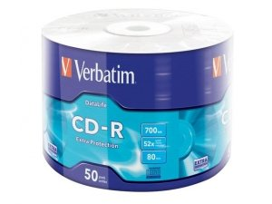 CD-R Verbatim 700MB Extra Protection Wrap (1 sztuka)