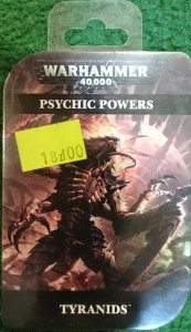 PSYCHIC CARDS TYRANIDS