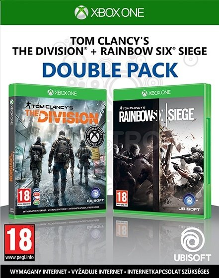 Tom Clancys Double Pack The Division + Rainbow Six Siege