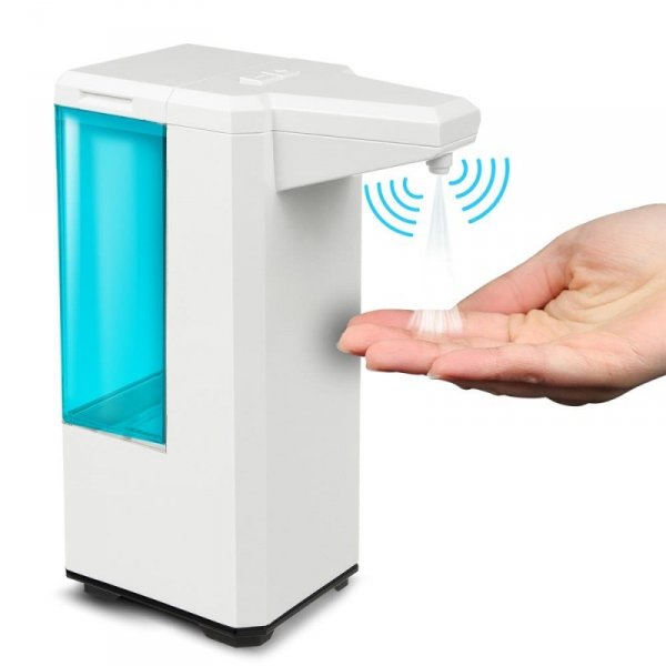 Dozownik pojemnik dyspenser automatyczny do płynów dezynfekujących 500ml Promedix PR-470