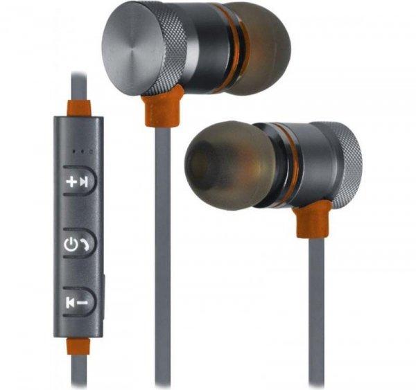 Słuchawki z mikrofonem Defender OUTFIT B710 Bluetooth douszne czarno-pomarańczowe