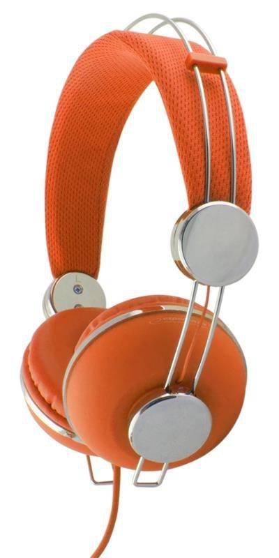 Słuchawki Esperanza EH149O pomarańczowe