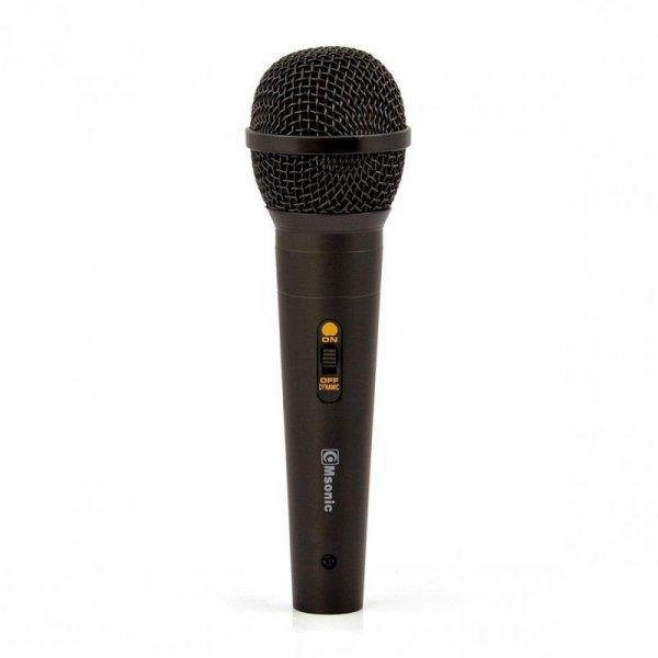 Mikrofon przewodowy Msonic MAK473K metalowy