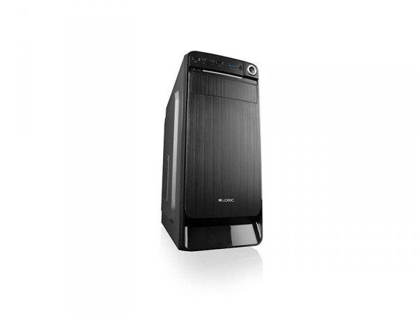 Obudowa LOGIC K3 ATX/mATX Midi USB 3.0 Black bez zasilacza