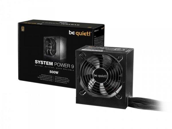 Zasilacz be quiet! System Power 9 500W 120mm 80+Bronze
