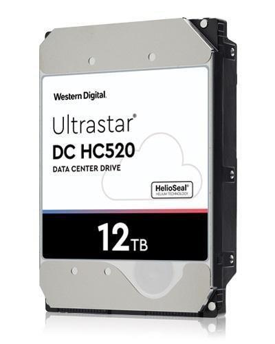 "Dysk Western Digital Ultrastar DC HC520 He12 12TB 3,5"" 256MB SAS 4KN SE P3 DC HUH721212AL4204"